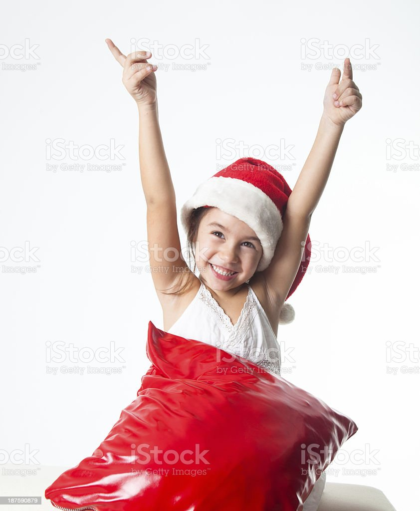 Thanks Godit' christmas royalty-free stock photo