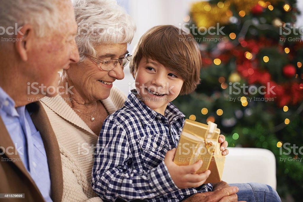 Подарок бабушке с дедушкой 5