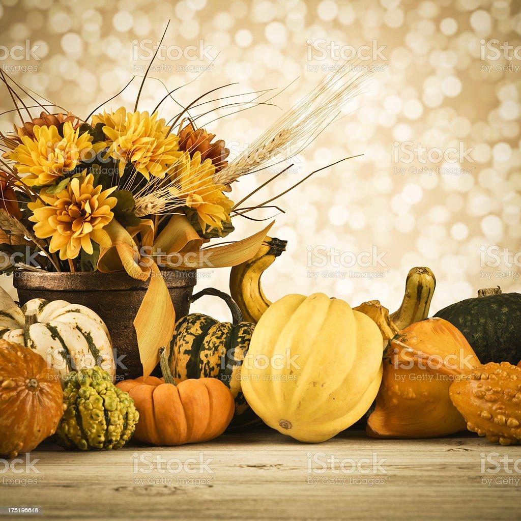 Thanksgiving Arrangement royalty-free stock photo
