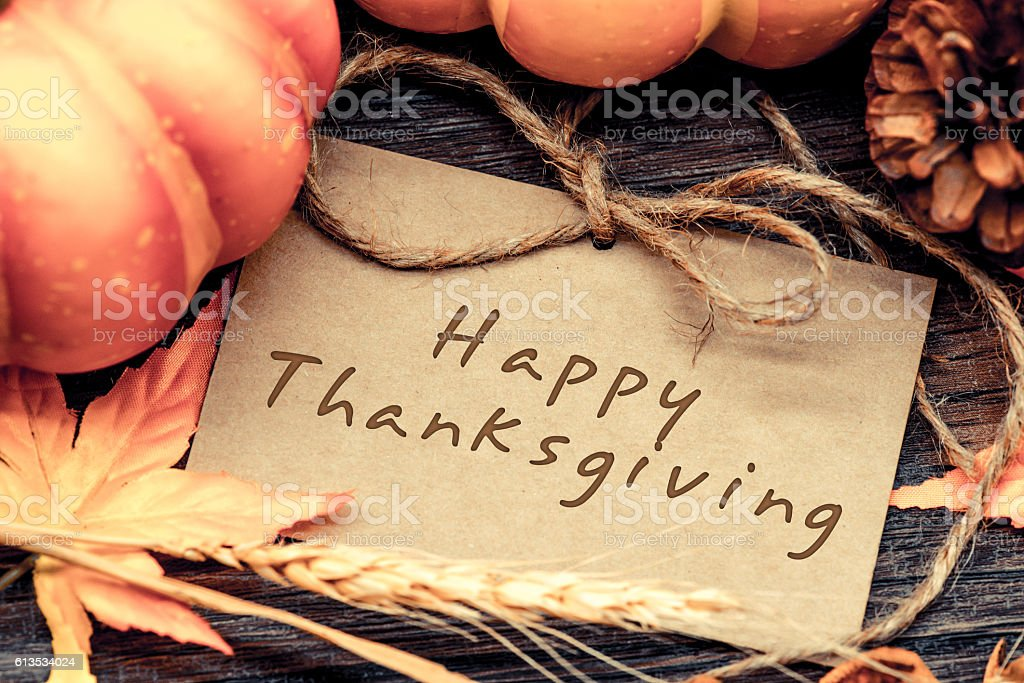 Thanksgiving background, Harvest vintage and country style stock photo