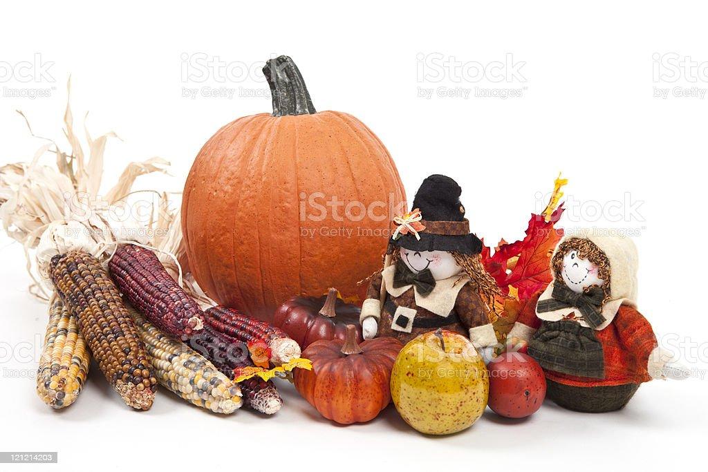 Thanksgiving Centerpiece royalty-free stock photo