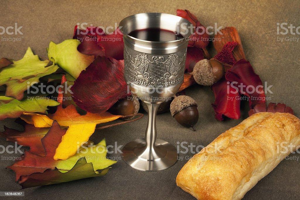 Thanksgiving Communion Series royalty-free stock photo