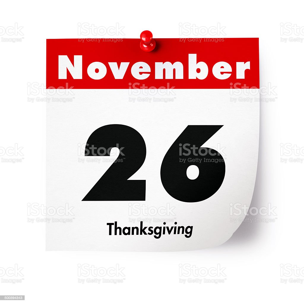 Thanksgiving Day in 2015 stock photo