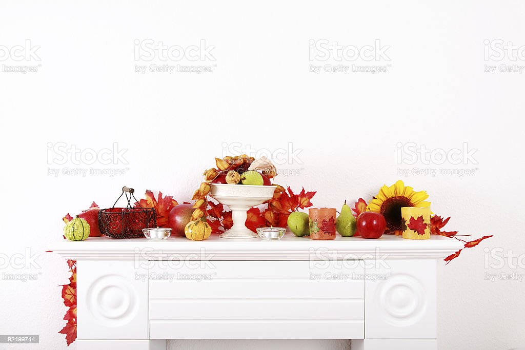 Thanksgiving decoration royalty-free stock photo
