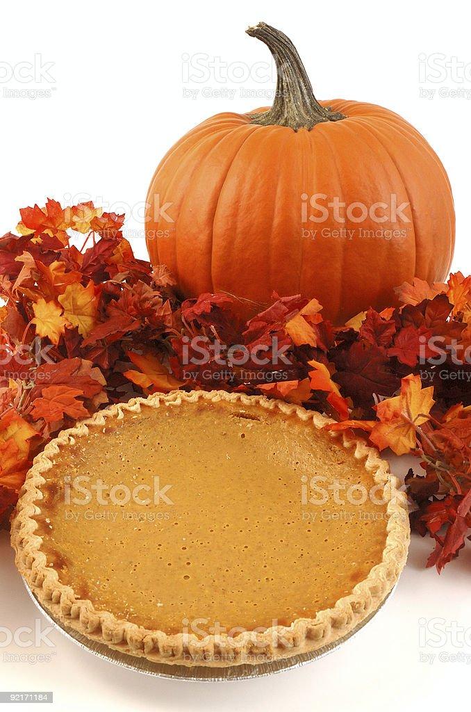 Thanksgiving Dessert royalty-free stock photo