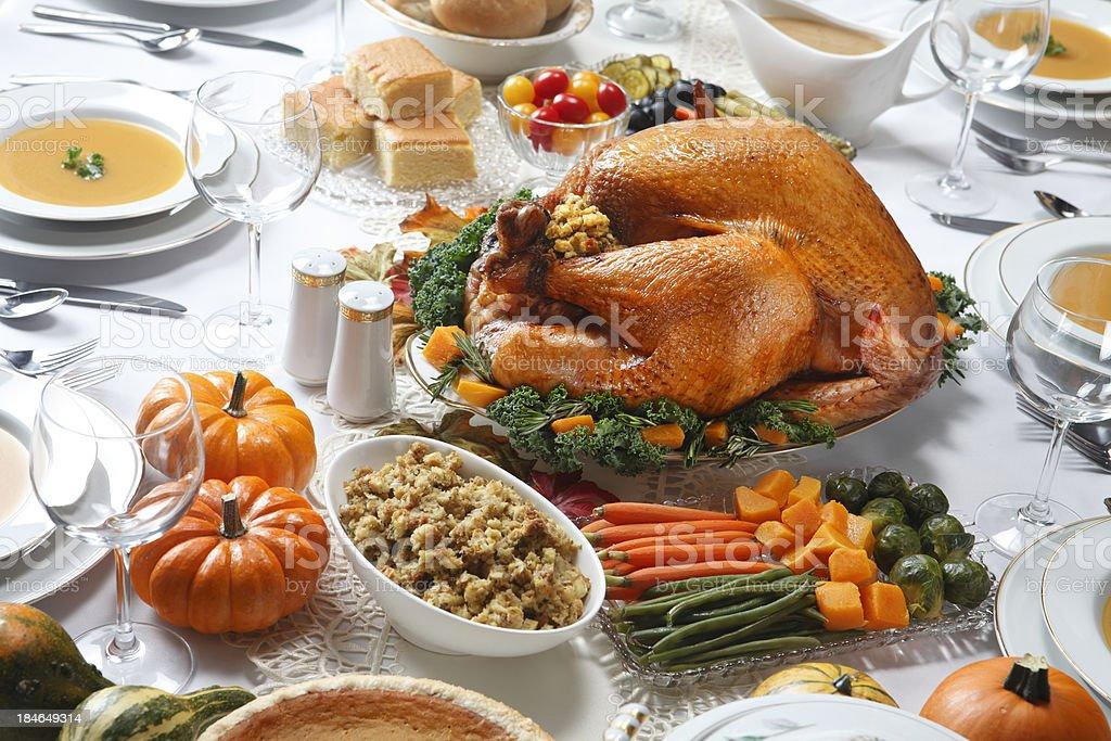 Thanksgiving-Abendessen – Foto