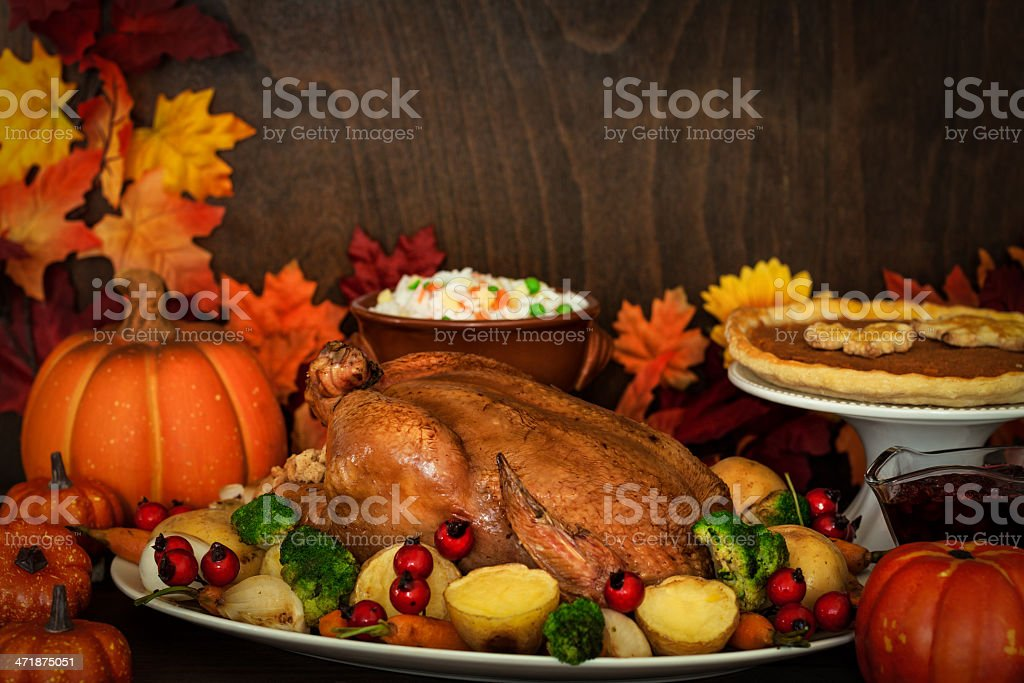 Thanksgiving Dinner royalty-free stock photo