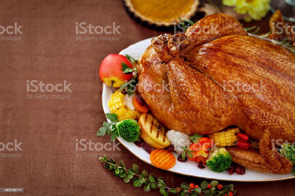 Thanksgiving Dinner stock photo