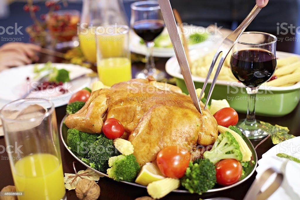 Thanksgiving dish royalty-free stock photo