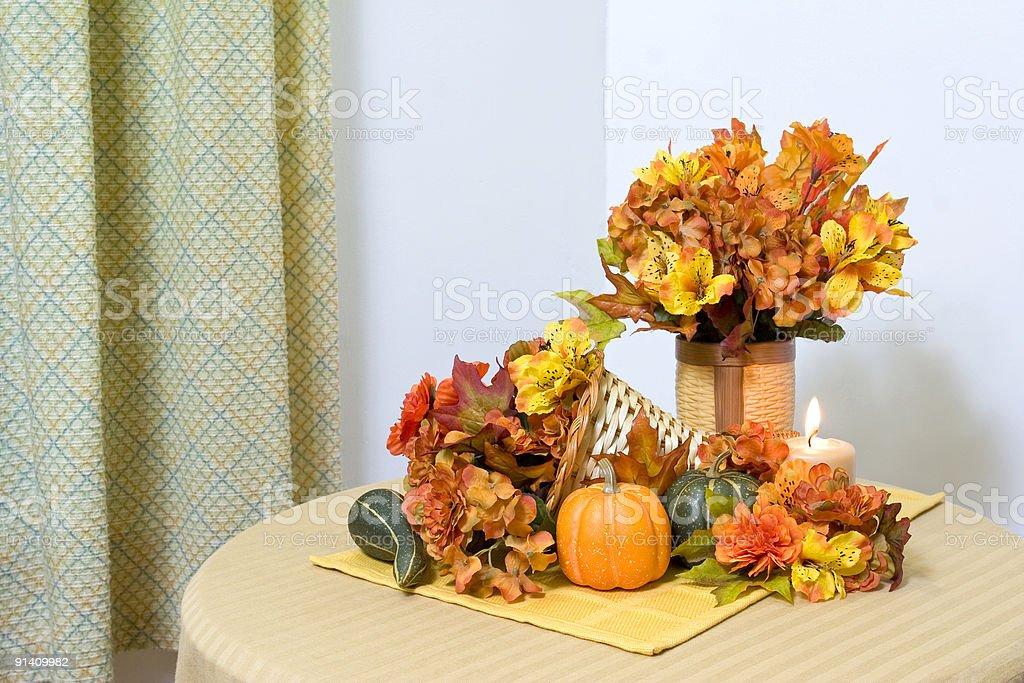 Thanksgiving display royalty-free stock photo