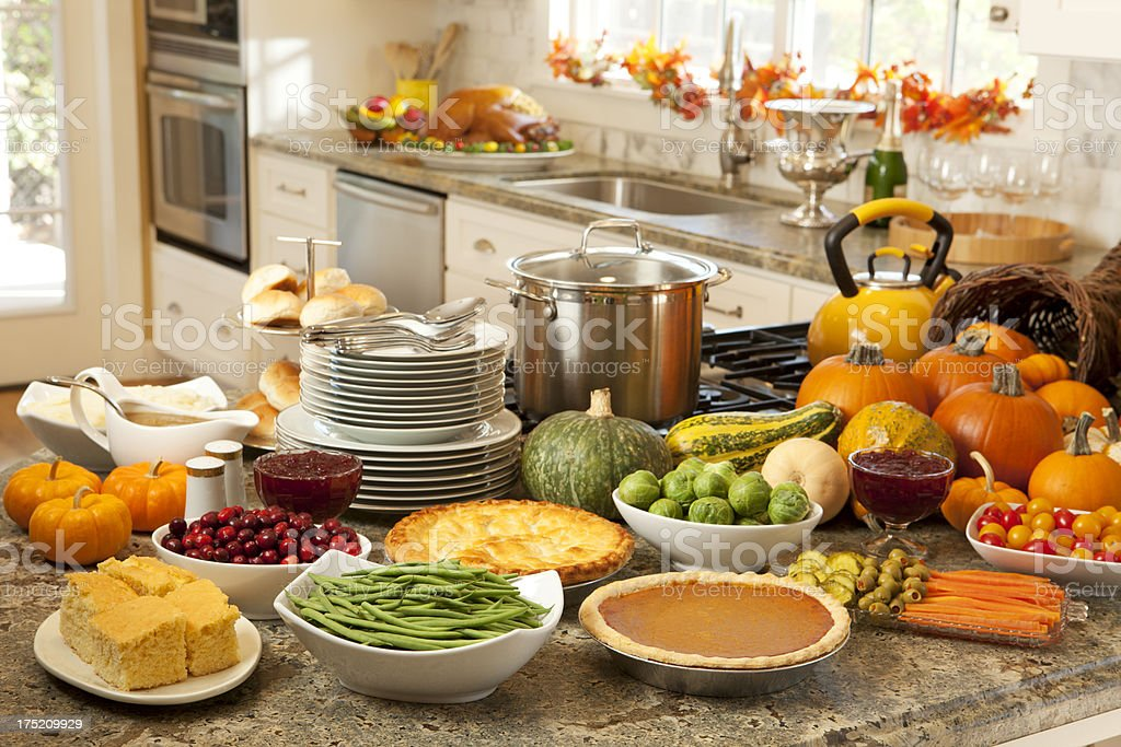 Thanksgiving Fixings stock photo