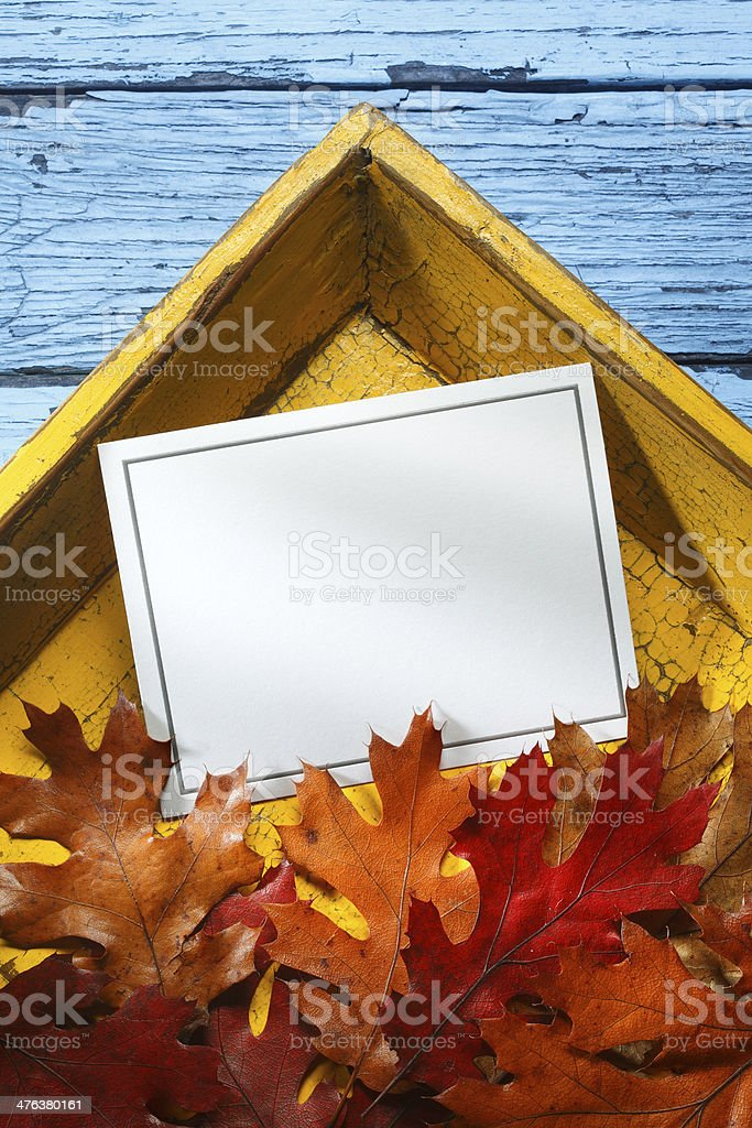 Thanksgiving Invitation royalty-free stock photo