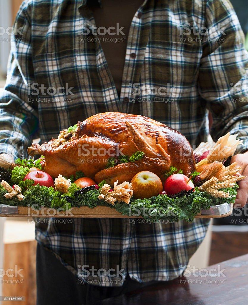 Thanksgiving Turkey FoodLove2014 stock photo