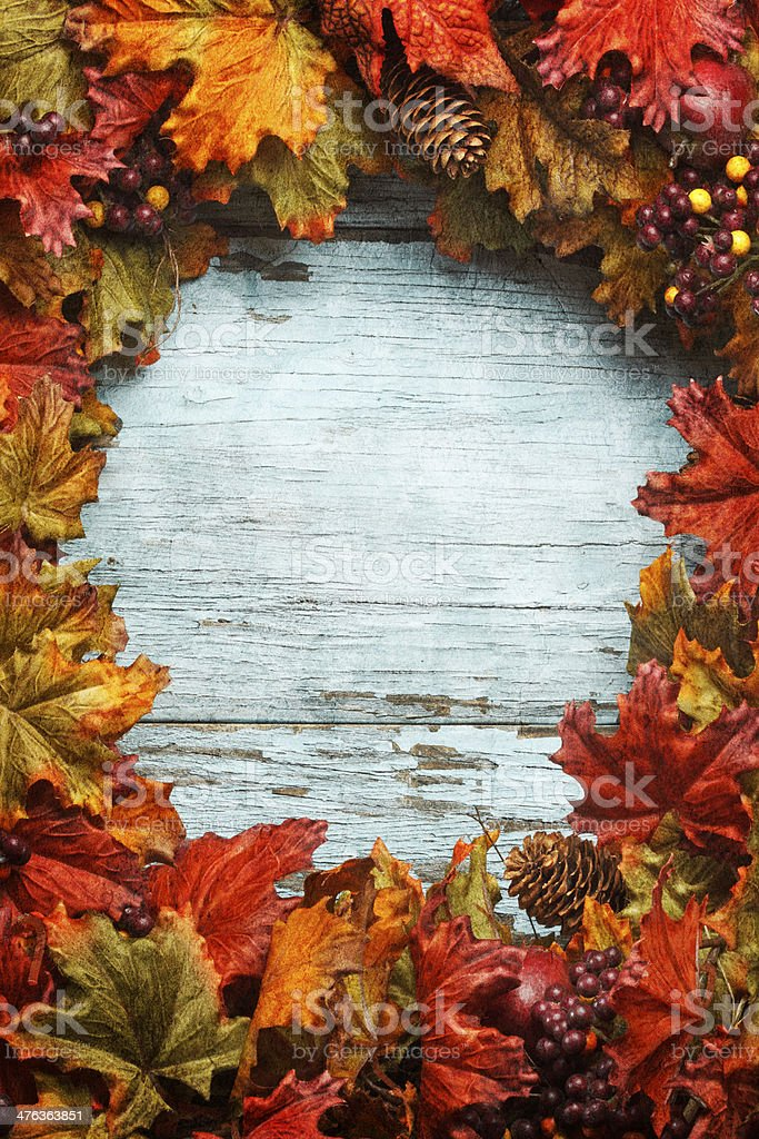 Thanksgiving Wreath royalty-free stock photo
