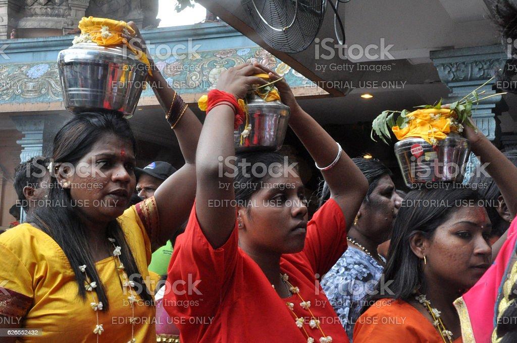 Thapusam Ceremony stock photo