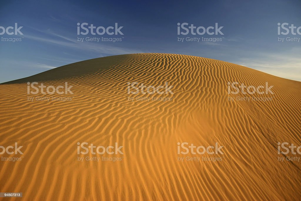 Thar Desert Sand Dunes royalty-free stock photo