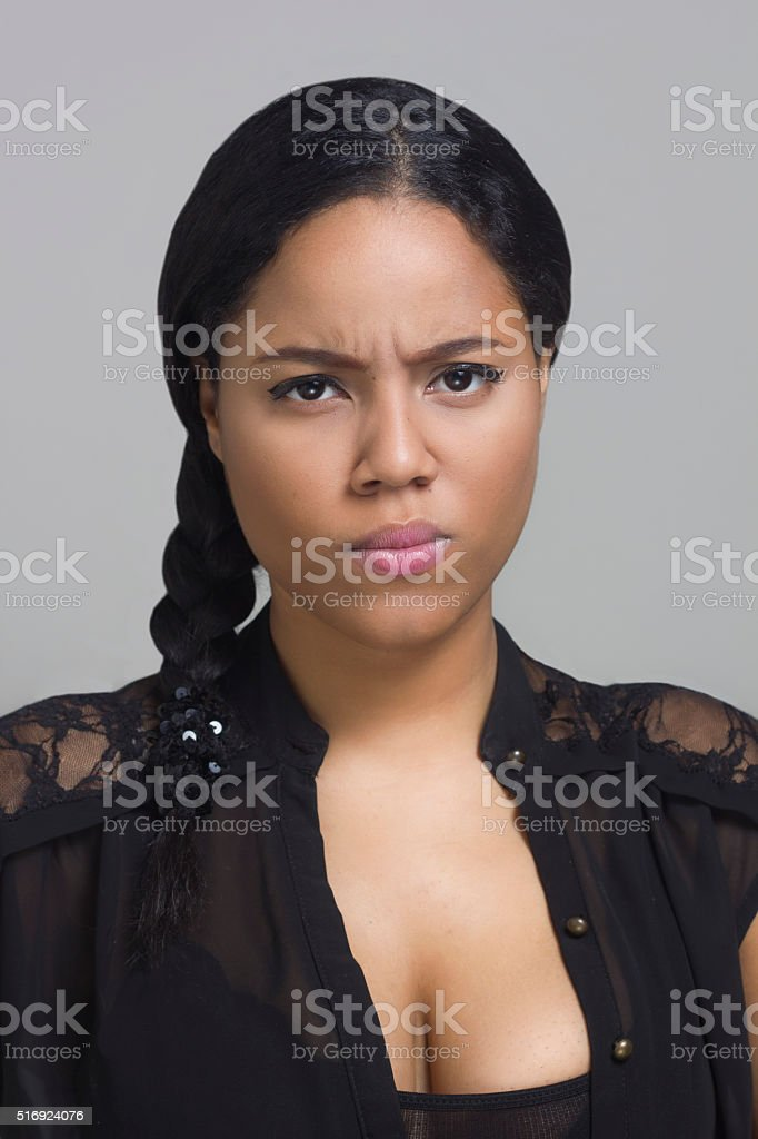 That does not suit me stock photo
