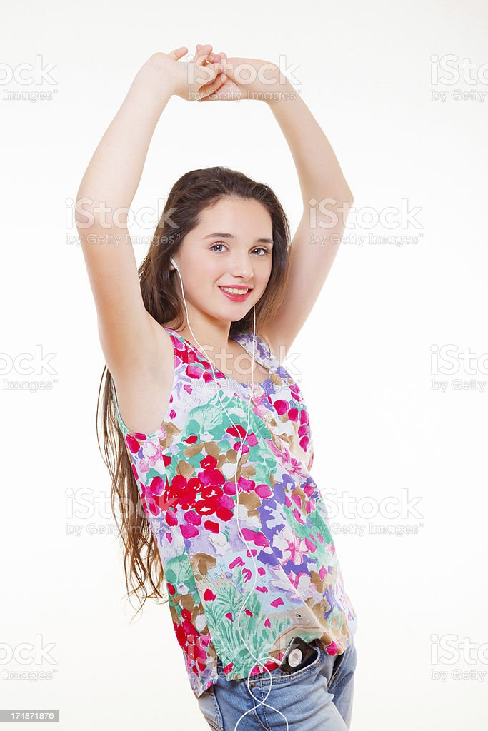 That is my favourite song and I'm gonna dance royalty-free stock photo