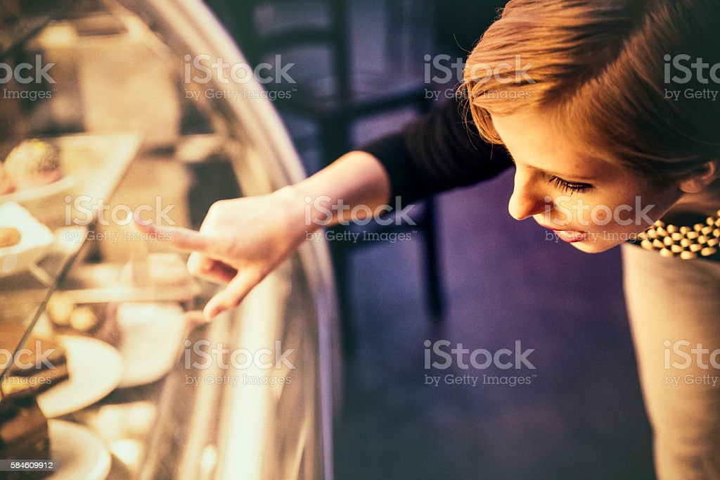 That is the one I want! stock photo