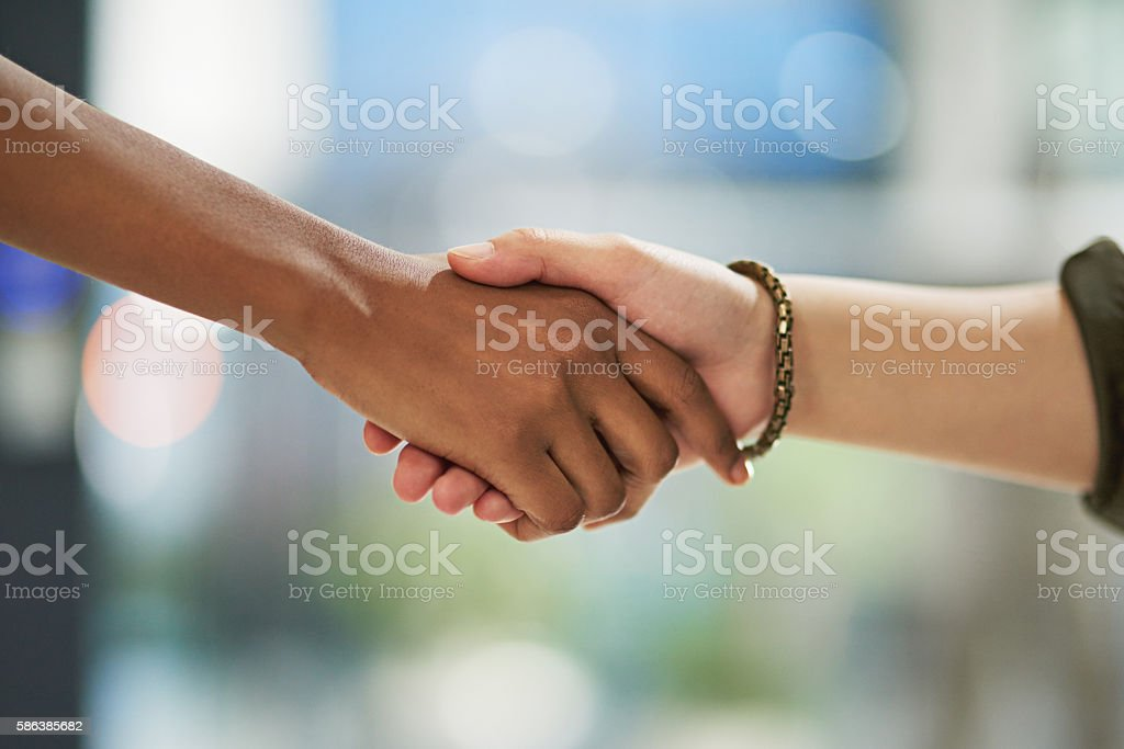That makes it official! stock photo