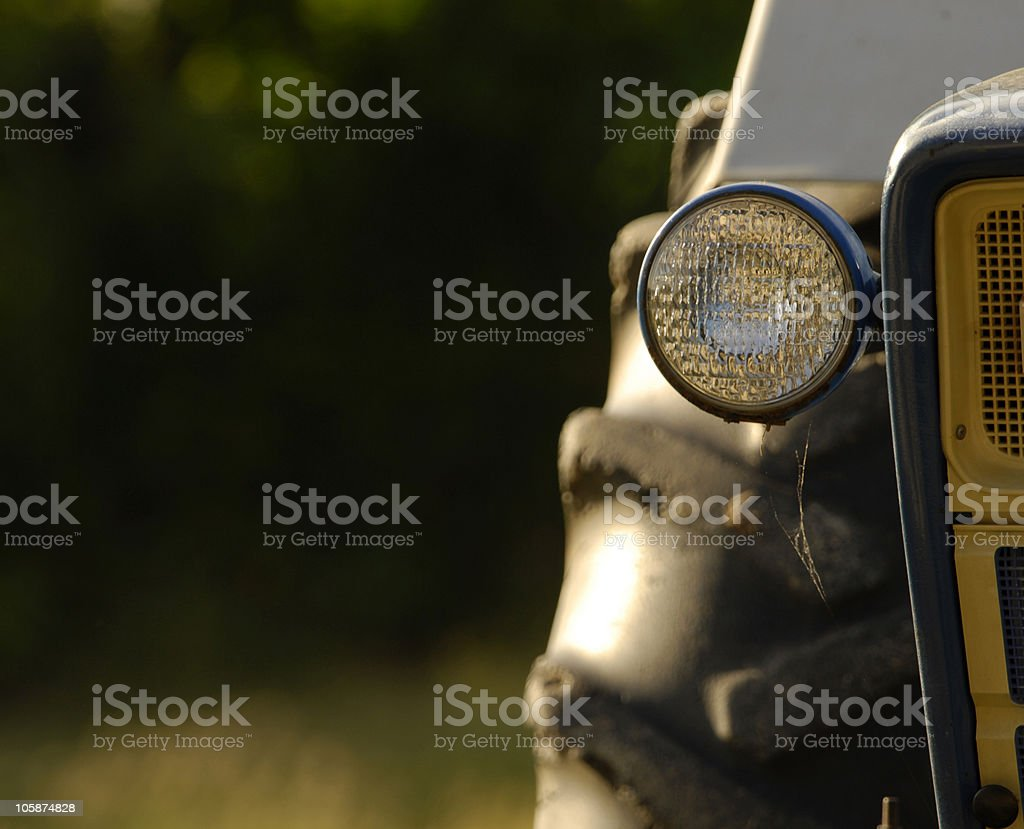 that old tractor royalty-free stock photo