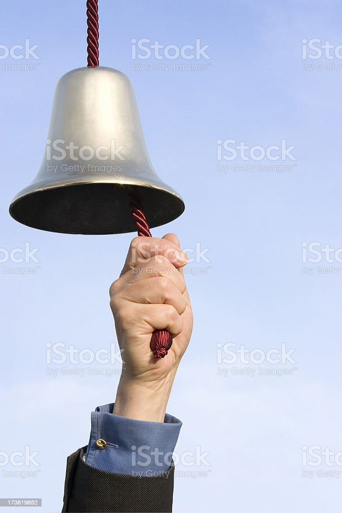 That Rings a Bell royalty-free stock photo