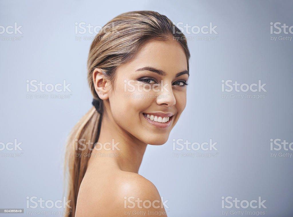 That smile... stock photo