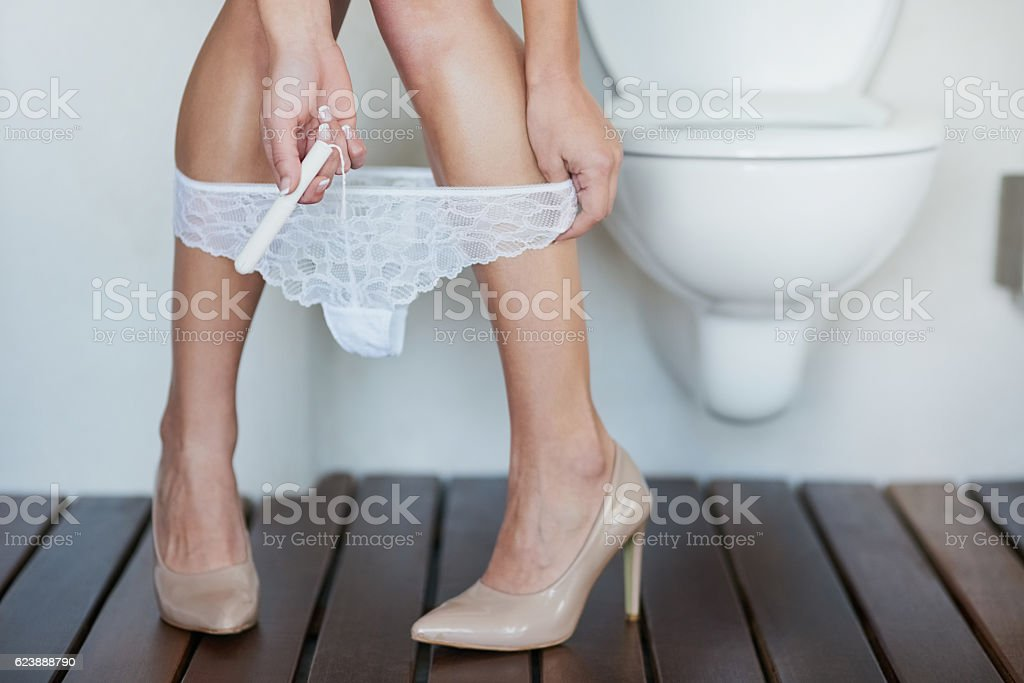 That time of the month again stock photo