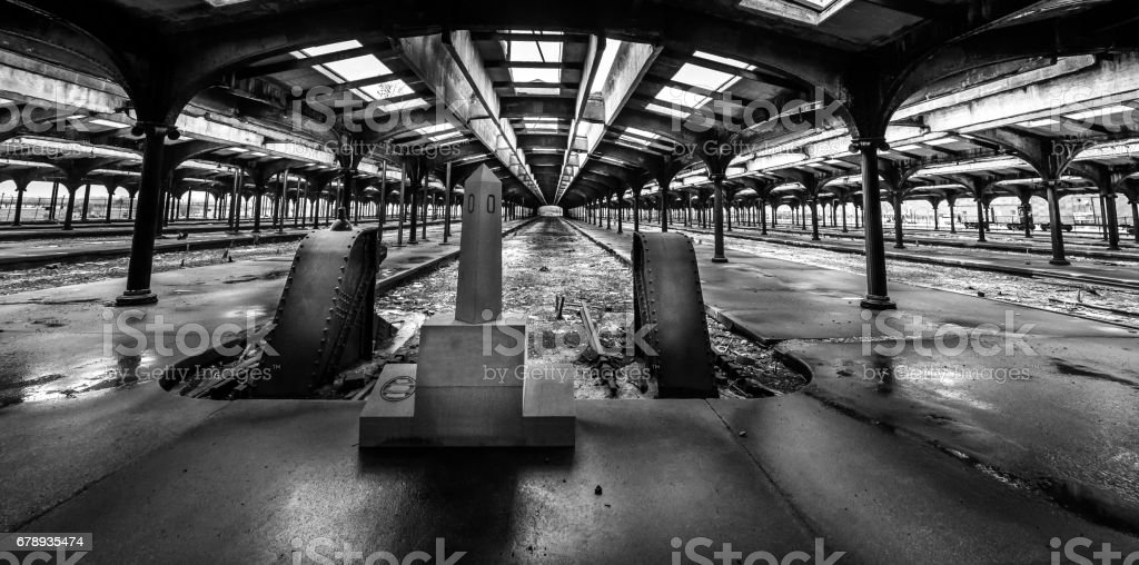 That Train don't stop here any more stock photo