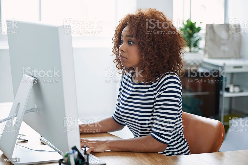 That wasn't supposed to happen... stock photo