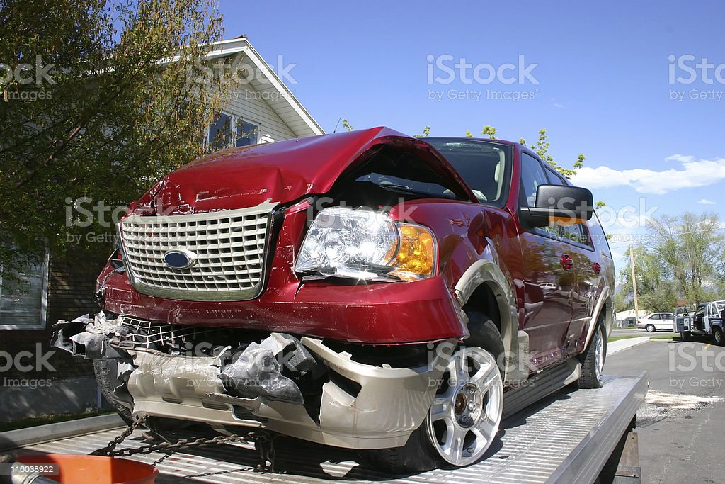 That wasn't the garage was it? stock photo
