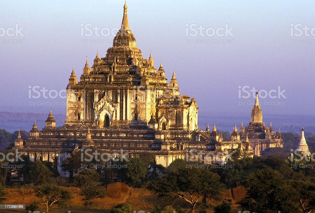 thatbinnyu temple myanmar bagan royalty-free stock photo