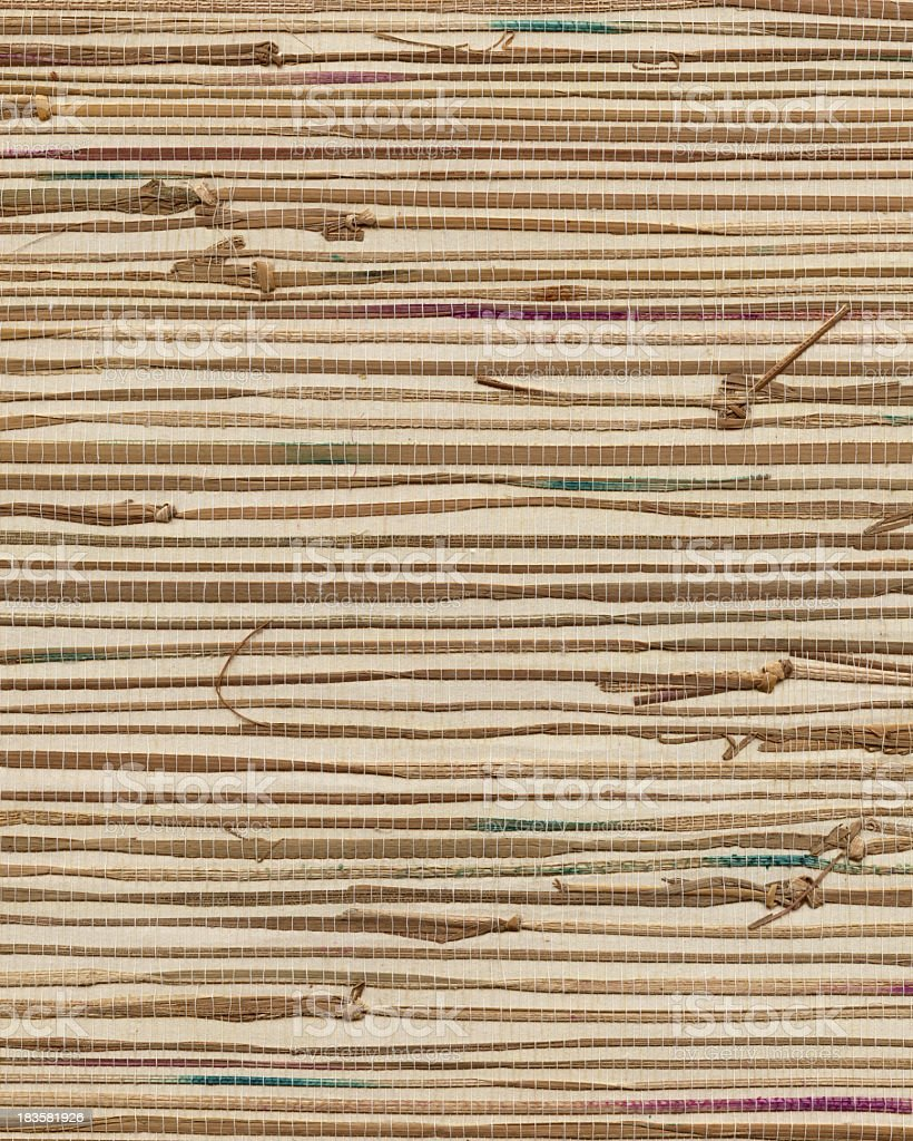 thatch wall royalty-free stock photo