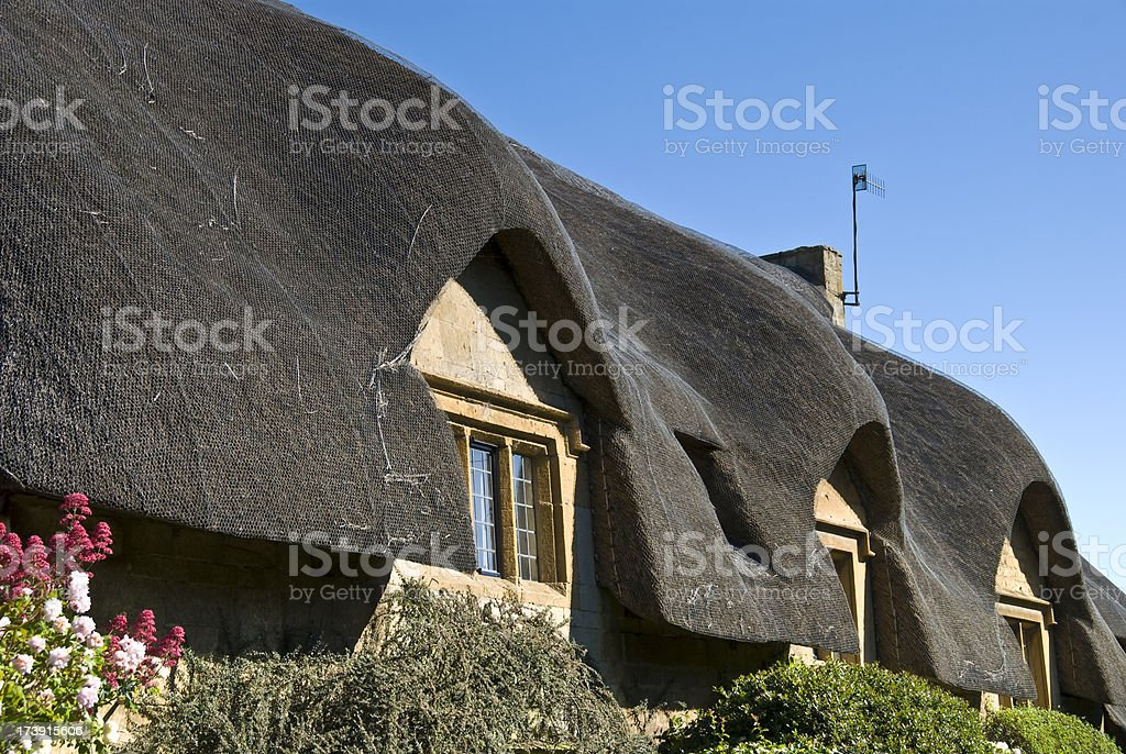Thatched Roof royalty-free stock photo