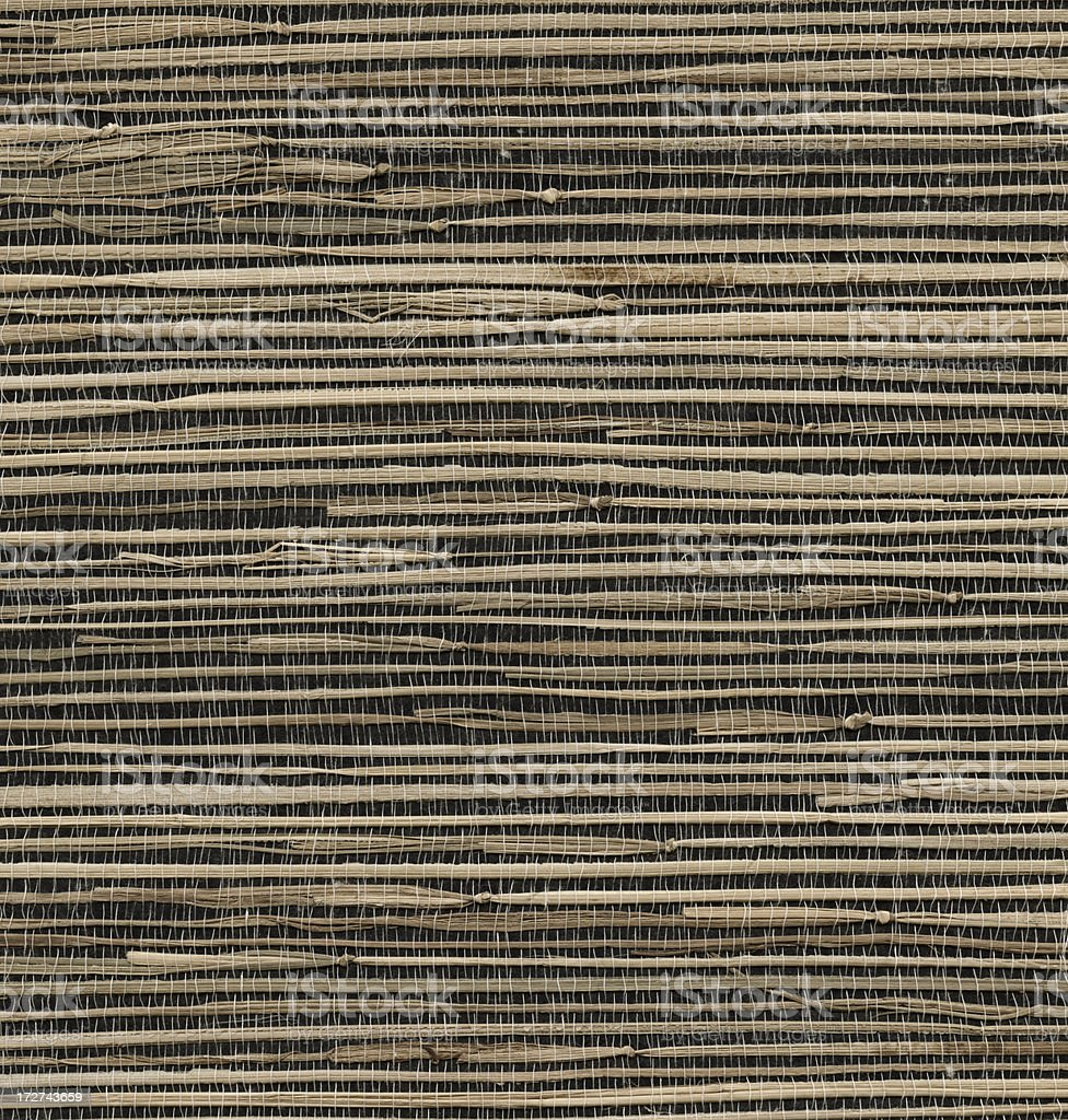 thatched straw surface royalty-free stock photo