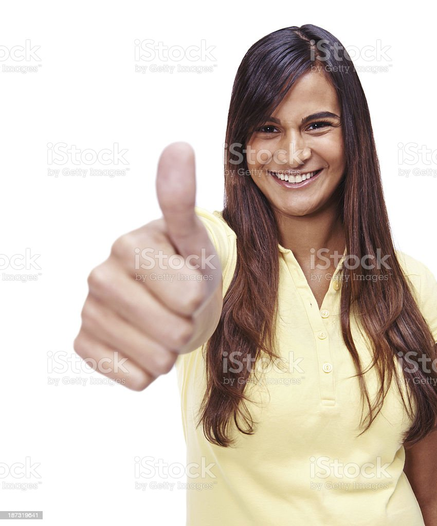 That's great! royalty-free stock photo