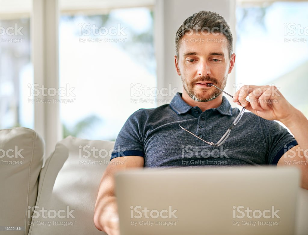 That's interesting… stock photo