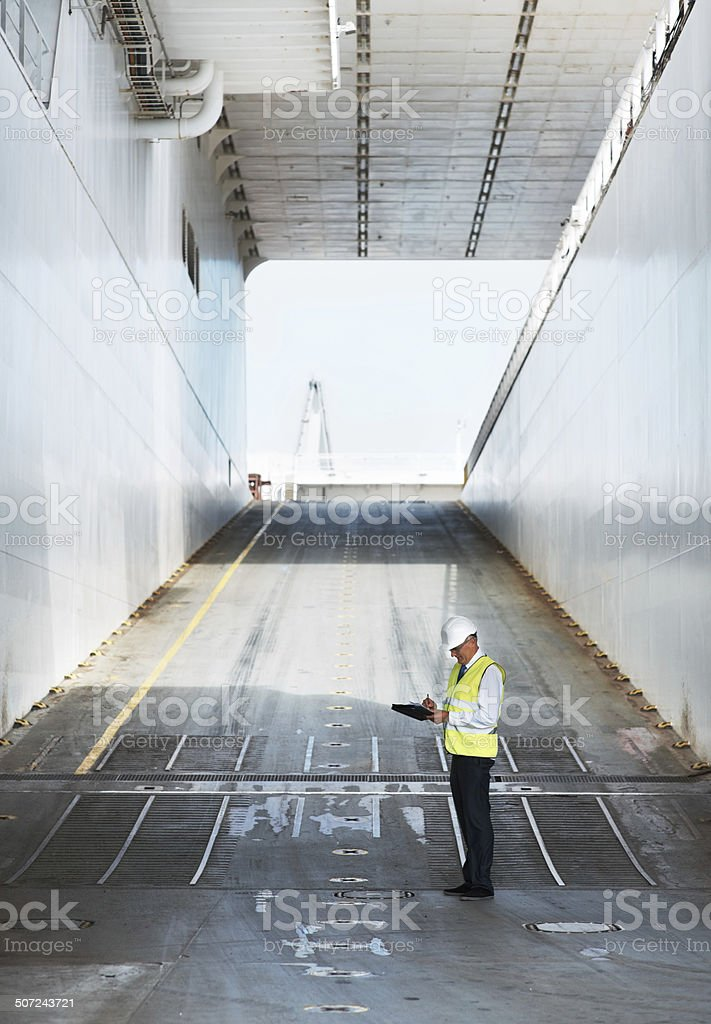That's the last load gone... stock photo
