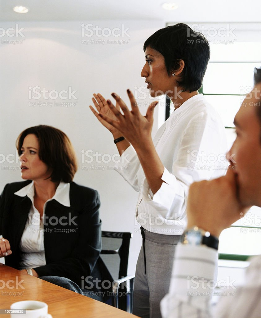 Thats the point royalty-free stock photo