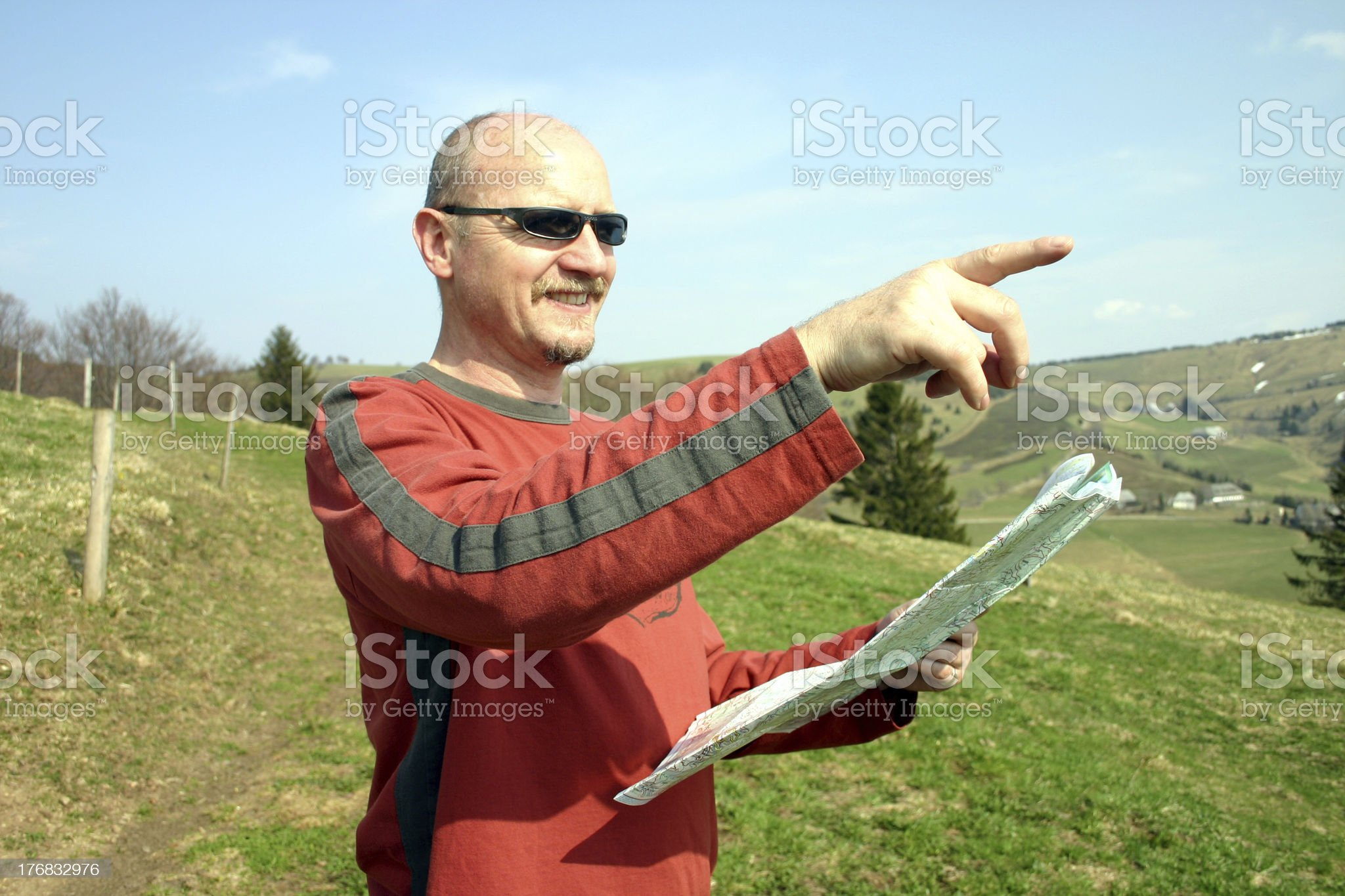 Thats the way royalty-free stock photo