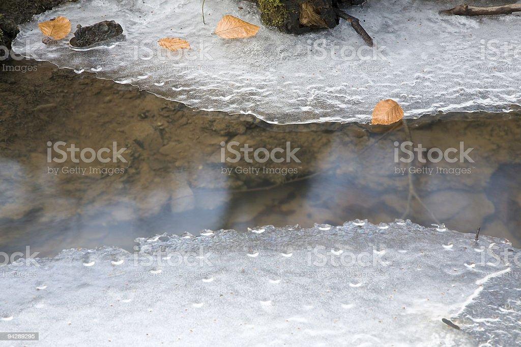 thaw II royalty-free stock photo