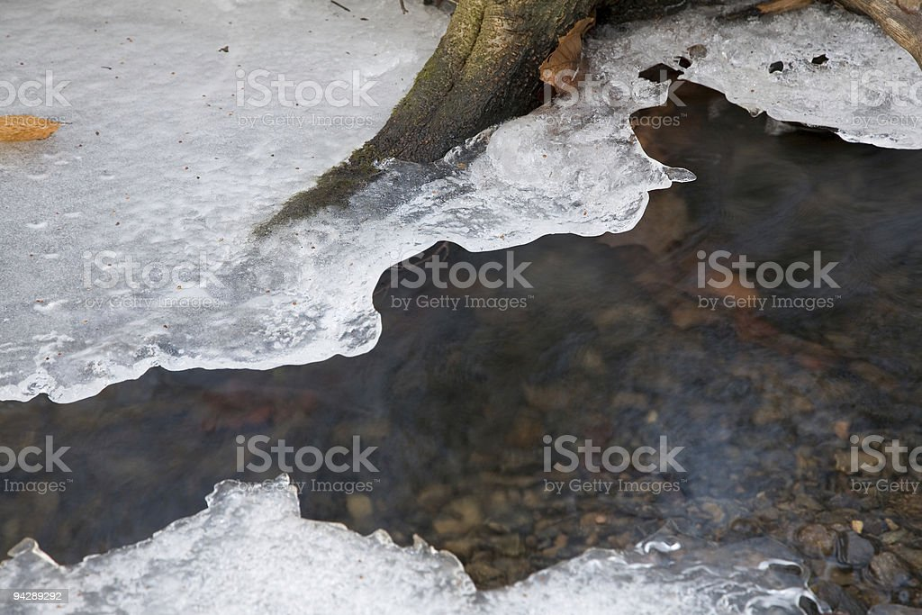 thaw royalty-free stock photo