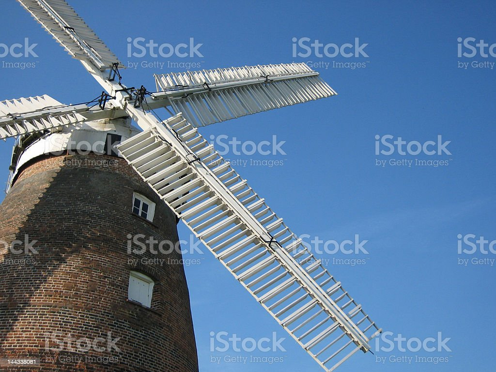 Thaxted windmill, Essex royalty-free stock photo