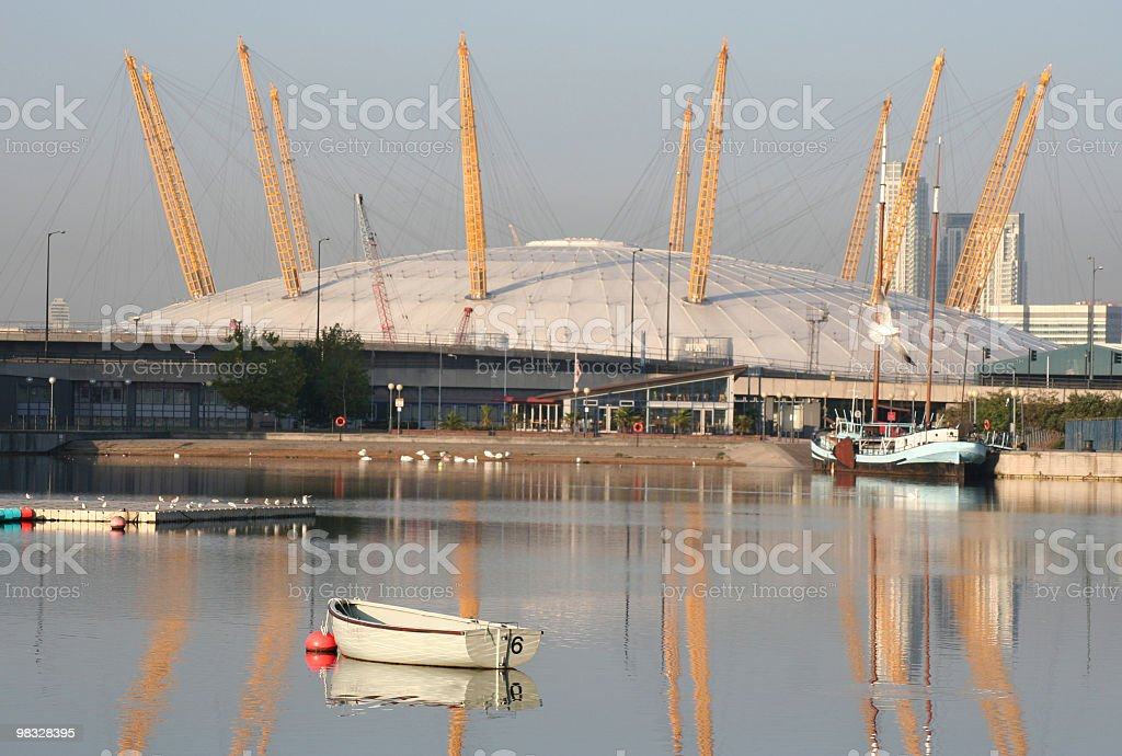 The 02 arena, London royalty-free stock photo