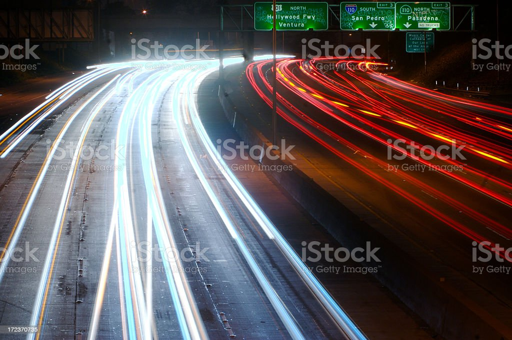The 101 Freeway stock photo