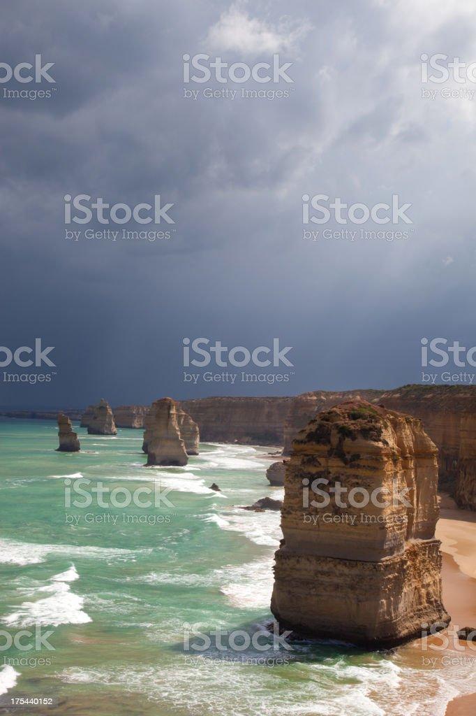 The 12 Apostles, Australia stock photo