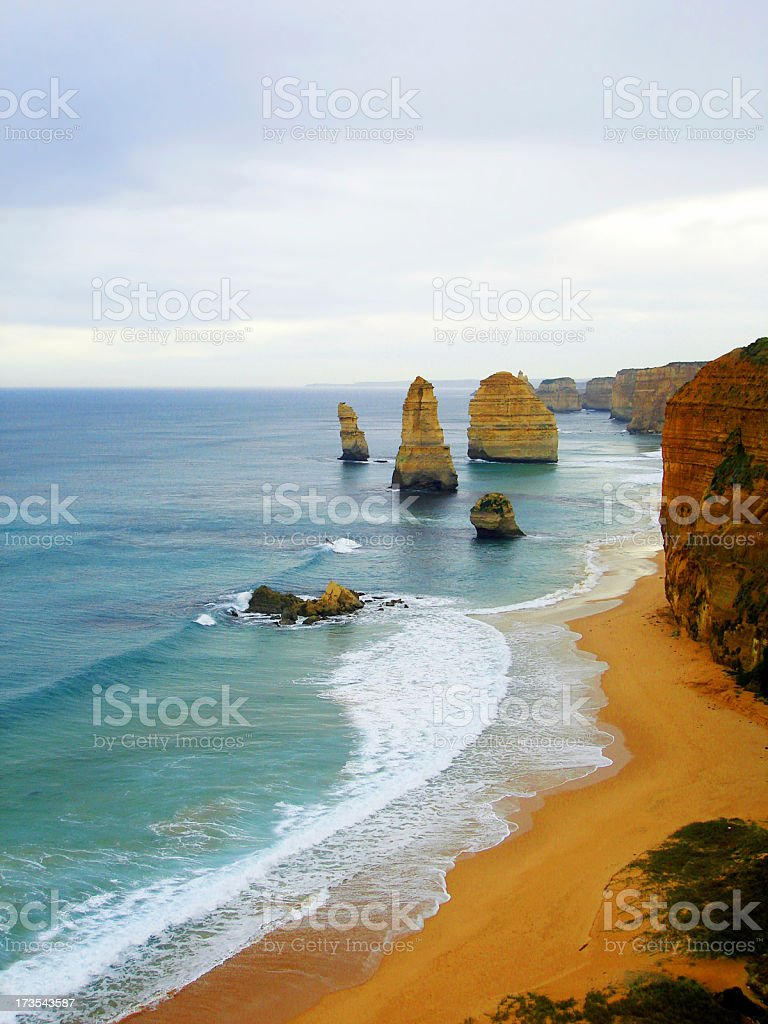 The 12 Apostles Melbourne, Australia royalty-free stock photo