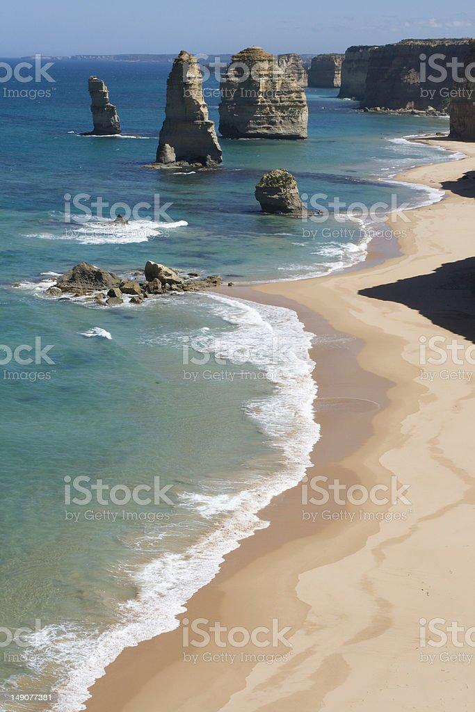 The 12 Apostles (Victoria, Australia) royalty-free stock photo