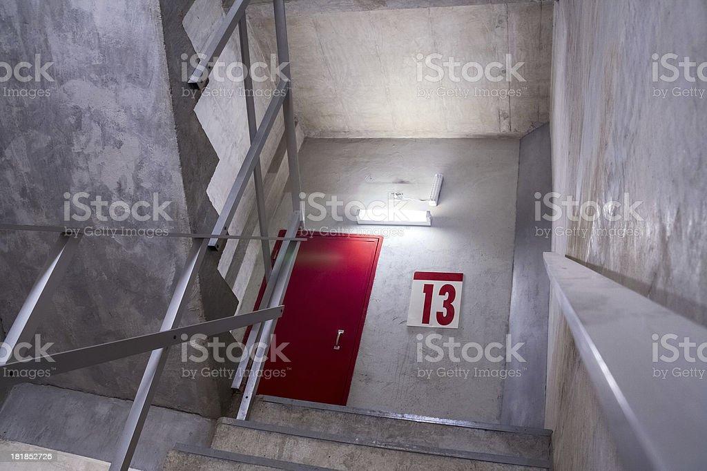 The 13th floor stock photo