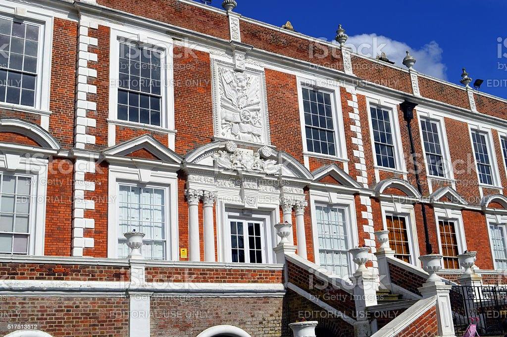 The 15 century historical Croxteth Hall in Liverpool stock photo